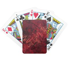 Red Passion Playing Cards  http://www.zazzle.com/LiveWaterStudios*
