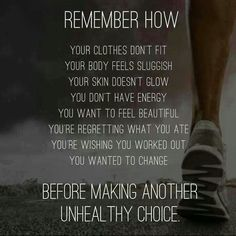 Remember How... Your Clothes Don't Fit Your Body Feels Sluggish Your Skin Doesn't Glow You Don't Have Energy You Want To Feel Beautiful You're Regreeting What You Ate You're Wishing You Worked Out You