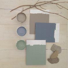 pizarra-cuartocolor-colores2 Duck Egg Blue Bedroom, Colour Pallette, Palette, Color Azul, Modern Rustic Decor, Living Room Colors, Pantone Color, Wall Colors, Home Decor