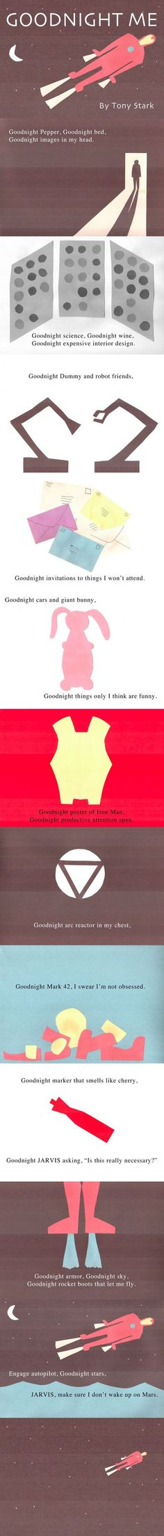 Goodnight Iron Man<<< I would so read this to my kids. Favourite kids book and one of my favourite avengers. Love it!!!