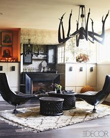 abode love: a man's home is his wife's castle: elle decor showhouse