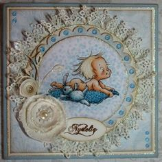 Ninas kreative roteloft Baby Cards, Scrapbook, Frame, Handmade, Home Decor, Creative, Picture Frame, Hand Made, Decoration Home