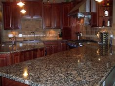 baltic brown granite counter what backsplash | Baltic Brown Granite Countertop from China-213492 - Stonecontact.Com
