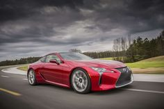 Toyota's luxury brand is not known for building sporty cars, but it has long wanted to change that, ... - Photo: Courtesy of Toyota