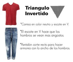 """""""Outfit para triangulo Invertido"""" by damarys-jpg on Polyvore featuring Dsquared2, men's fashion y menswear"""