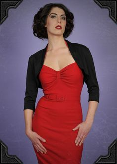 Pinup Bolero - perfect for staying warm in style