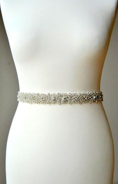 Wedding Belt, Bridal Belt, Bridesmaid Belt, Bridesmaid Belt, Crystal Rhinestone Ready to ship Beautiful for bride and bridesmaids. This is unique