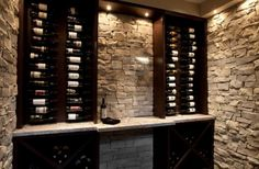 Wine Cellar - i want this in my basement!
