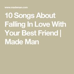 23 Best Love Songs About Falling In Love With Your Best Friend