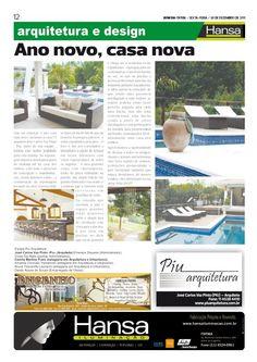 18° Publicação Jornal bom dia – Ano novo, casa nova  30 -12-11