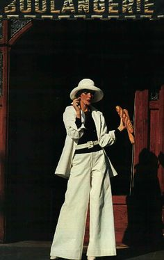 A Tribute to the Iconic Style of Loulou de la Falaise, Muse to Yves Saint Laurent - Fashionista