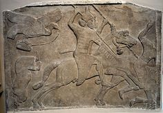 Britishmuseumassyrianrelieftwohorsemennimrud - Art of Mesopotamia - Wikipedia, the free encyclopedia