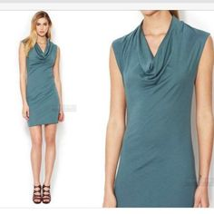 Helmut cowl deck jersey dress or tunic Only worn twice. Great condition Helmut Lang Dresses