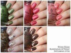 @chinaglaze Apocalypse of Color Collection for Halloween 2014 | Amandalandish