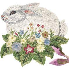 Bunny Rug $35