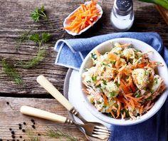 Πατατοσαλάτα της Αργυρώς | Συνταγή | Argiro.gr Salads, Cakes, Drink, Cooking, Ethnic Recipes, Food, Kitchen, Beverage, Cake Makers