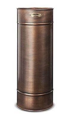 """Copper Umbrella Stand Indoor Decorative Metal Bumbershoot Holder 24"""" X 9"""" Smith & Hawken http://www.amazon.com/dp/B00SA8AO8W/ref=cm_sw_r_pi_dp_slSWub1WWVZTD"""