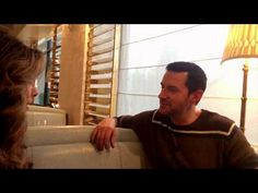 """Richard Armitage Part 2 """"Armitage iChat"""" EXCLUSIVE with Marlise Boland - YouTube"""