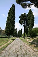 The Appian Way (Via Appia) in Rome