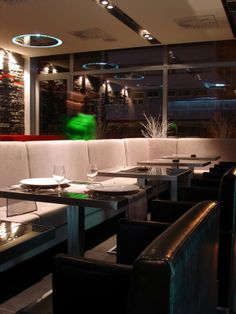 AXTON Restaurant Bratislava by Joseph Tucny, via Behance Bratislava, Portfolio Design, Joseph, Conference Room, Designers, Behance, Restaurant, Table, Furniture