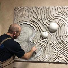 Best Mixture For Plaster Relief Carving and Bas-Relief Sculpture Materials: Scagliola - Pigmentti Sculpture Projects, Sculpture Clay, Sculpture Ideas, Art Projects, Plaster Art, Sculptures Céramiques, Contemporary Sculpture, Texture Art, Art Techniques