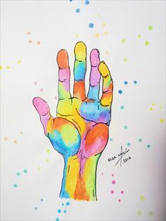 Hand watercolor