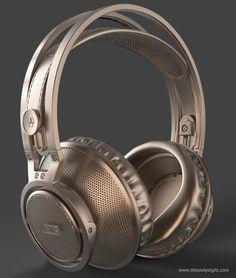 AKG K812 headphones HS practice — polycount