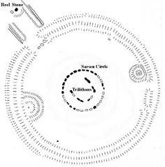 Stonehenge Phase III, sub-phase 3ii (c. 2550-1600 BCE)  The Sarsen Circle and the Trilithon Horseshoe