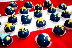 Police Officer Cake Balls