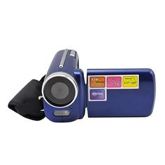 "Mini Series 1.8"" LCD Screen 1.3 Mega Pixels Digital Video Camera - Blue"