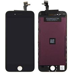 LCD Display for iPhone 6 6G Touch Screen Digitizer Full Assembly Complete Screen Replacement With Black Color *** Click image for more details. (This is an affiliate link) #Accessories