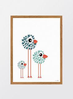 MinStreg: Birds