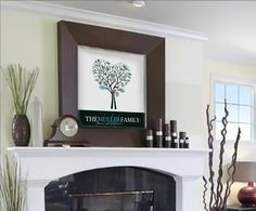 Items similar to Personalized Fingerprint Family Tree Art- Custom Children Decor- Wall Art Sign- Personalized new dad, new mom, grantparent, holiday gift on Etsy My Living Room, Home And Living, Family Tree Art, Personalized Wall Art, Hotel Interiors, Kids Decor, Home Decor, Art Wall Kids, Living Room Inspiration