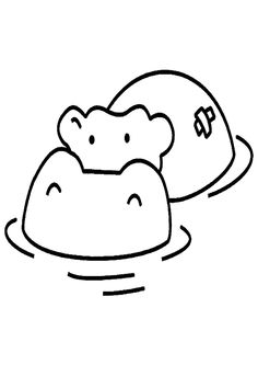 8 belles images de dessin hippopotame animal drawings printable coloring pages et sketches of - Coloriage petit singe ...