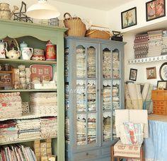 Vintage Display Cabinets