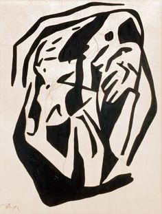 Dada by Jean Arp. Medium: ink & pencil on paper; Jean Arp, Zurich, Tristan Tzara, Georges Braque, Art And Illustration, Mondrian, Pablo Picasso, Sophie Taeuber Arp, John Heartfield