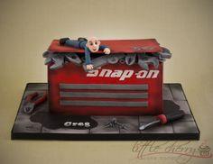 Snap-on Tool Box Cake
