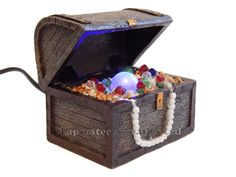 Top fin sunken ship aquarium decoration ornaments for Fish tank treasure chest