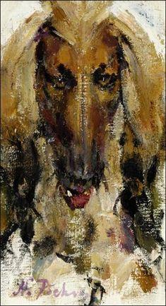 Nicolai Fechin - Niam; Medium: oil on canvas; Dimensions: 16 X 9.25 in (40.64 X 23.5 cm)