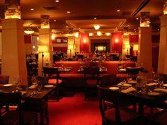 The dining room at Catherine Lombardi Restaurant, New Brunswick, NJ