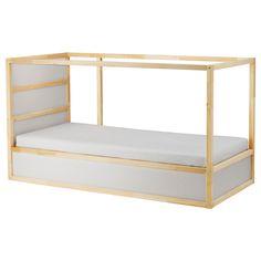 IKEA - KURA Reversible bed white, pine