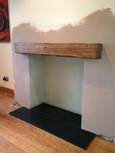 honed granite hearth - Google Search Wood Burner Fireplace, Unused Fireplace, Cosy Fireplace, Living Room With Fireplace, Fireplace Design, My Living Room, Interior Design Your Home, Interior Design Living Room, Living Room Designs