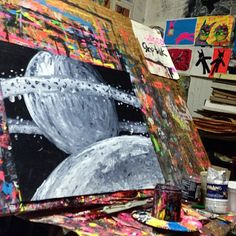 #space#universe #art #painting#mysterious #largest#object#astronomy#news#nova#physics#time#galaxy#three#spatial#dimensions#evidence#gregggriffin