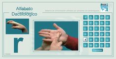 Alfabeto Dactilológico. Sistema de comunicación utilizado por personas con sordoceguera (ESPAÑOL). | Lengua de Signos Española