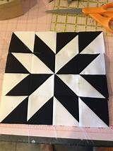 Half Square Triangle Quilt - Picmia