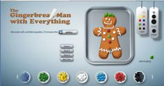Smart Board, Create a gingerbread man, snowman. Smart Board Activities, Smart Board Lessons, Classroom Activities, Classroom Ideas, Classroom Inspiration, Fun Activities, Gingerbread Man Activities, Christmas Activities, Gingerbread Men