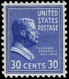 For all you Prexy collectors, here is one to help you celebrate Teddy Roosevelt's birthday.