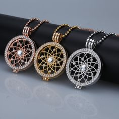 New sale rose gold interchangeable necklace Pendant 35mm coin hloder mix fit my 33mm coins crystal disc for frame  women gift