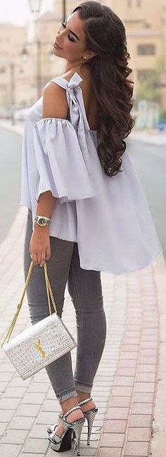 From Casual To Chic, 50 Trending Fall Outfits You Should Own Cool Summer Outfits, Casual Winter Outfits, Little Pink Dress, Grey Knit Dress, Black Playsuit, Cut Shirts, Trending Outfits, Shades, Banana Pi