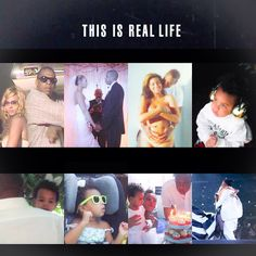 Beyoncé Blue & Jay This Is Real Life